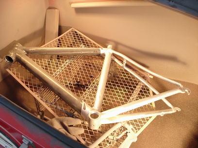 自転車の 自転車 アルミフレーム 修理 : 自転車アルミ&カーボン ...